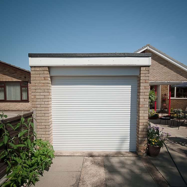 Roller shutter garage doors home improvements carlisle you can even use them on external garden sheds or garages our range of solutioingenieria Images