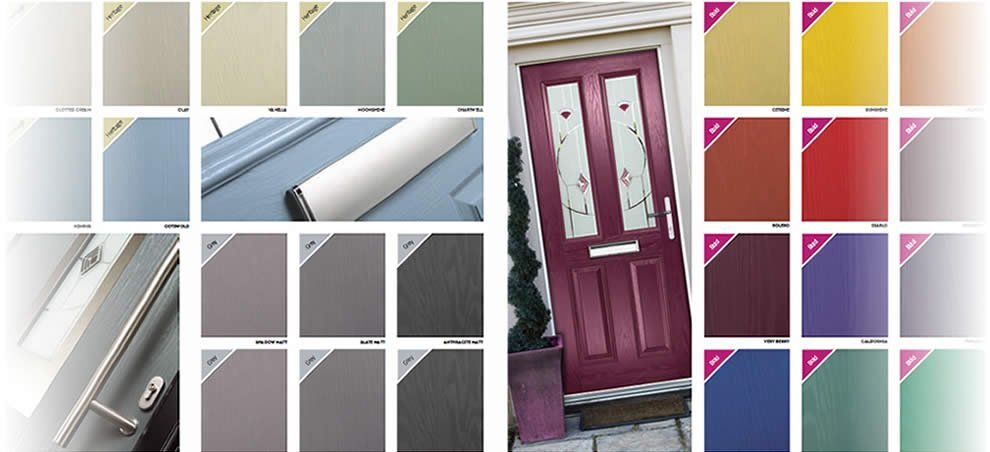Custom Colour Composite Doors