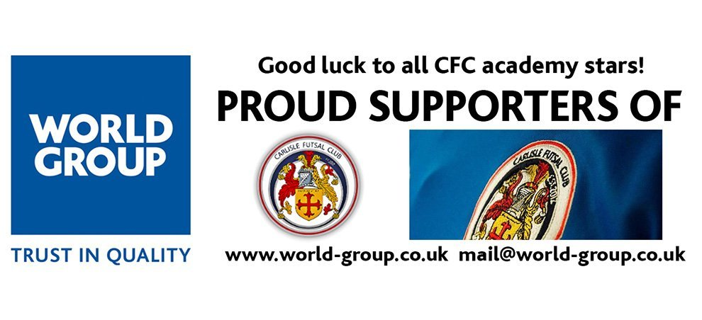 World Group are Proud to Support Carlisle Futsal Club