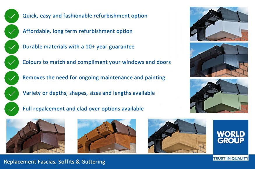 Fascias and Soffits | Roofline Plastics | For Your Home