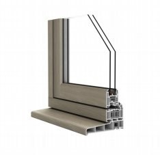 Flush Sash Section
