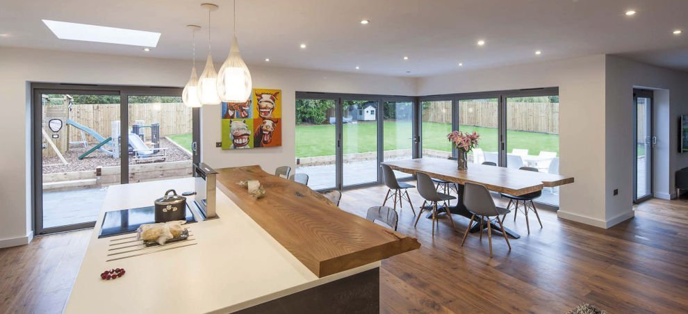 BiFold Door Installation | Kitchen Installation Carlisle, Cumbria